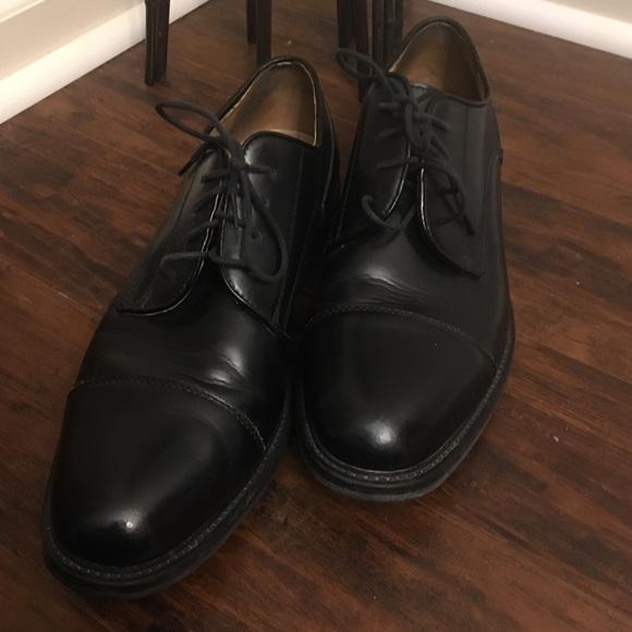 Josabanks Mens Dress Shoes Black Size